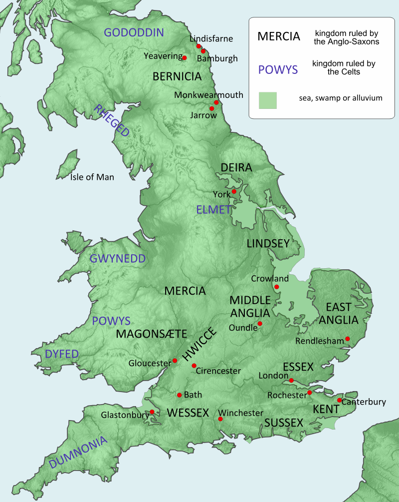 Guthlac's England