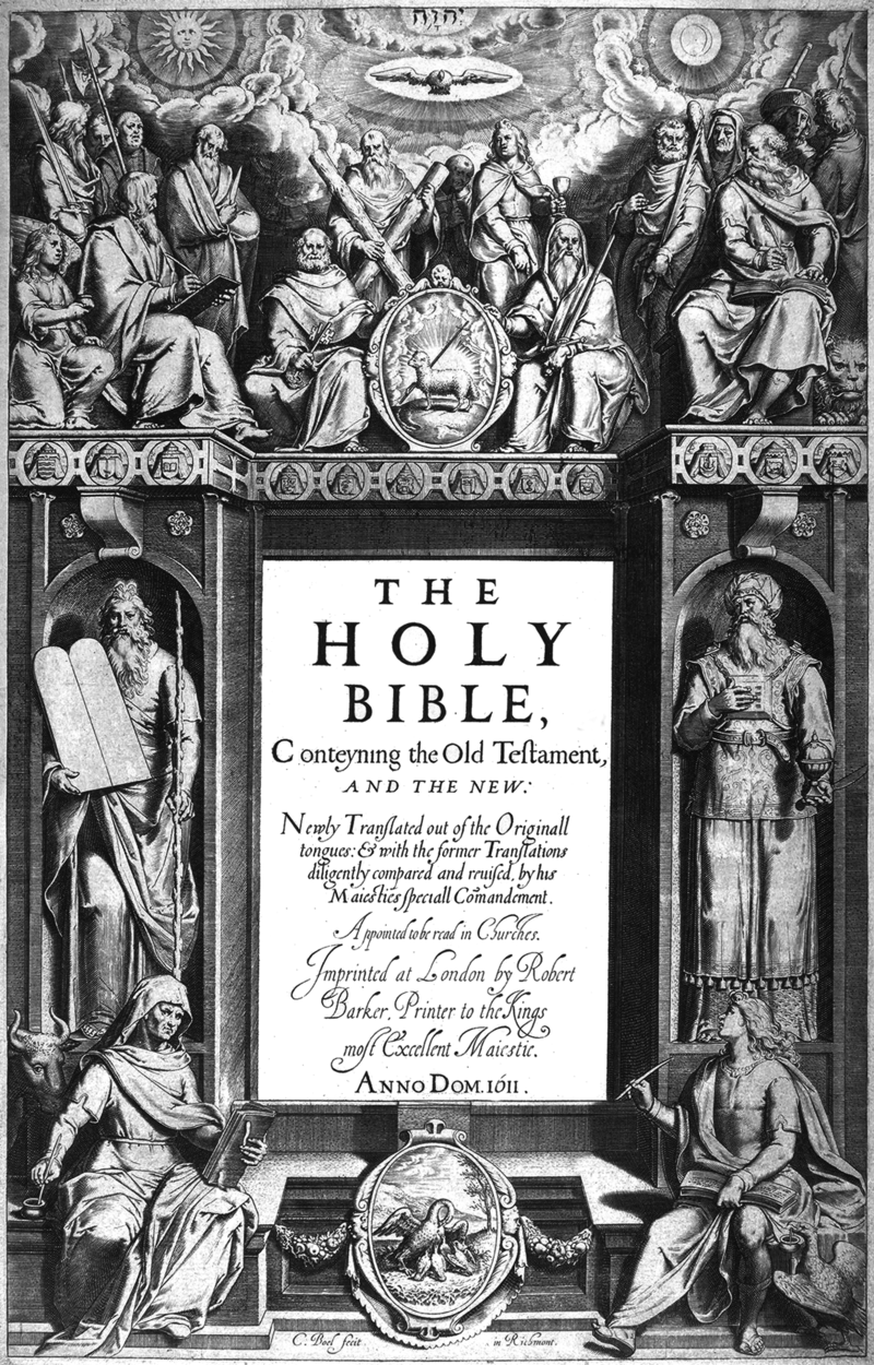 King James, first edition